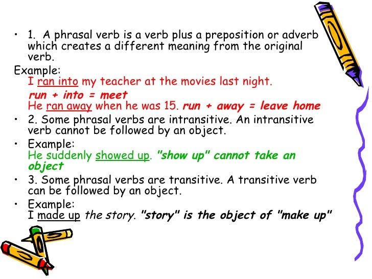 how to know it is a verb