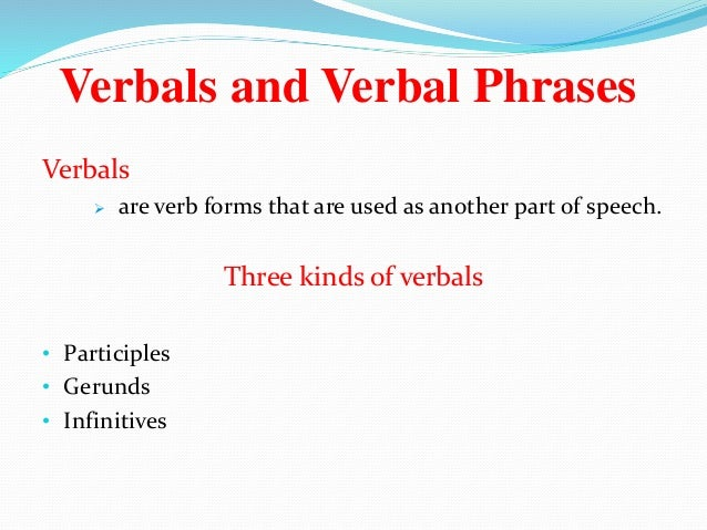 Phrases and its kinds