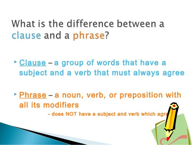 phrases and clauses 2