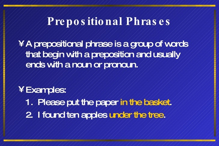 Phrases And Clauses Grammar1.15 Slide 2