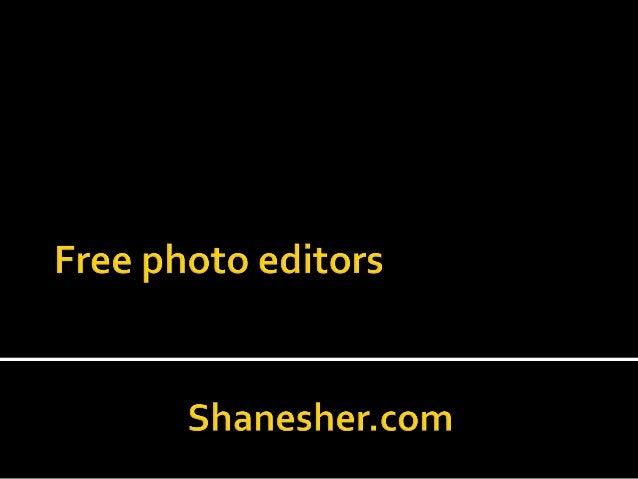 Phree photo editing l