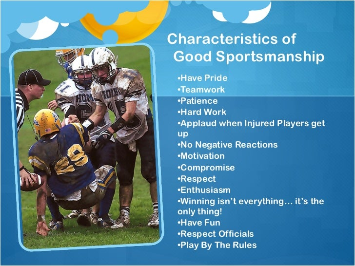good sportsmanship and pride Students - nfhs sportsmanship it's up to you  district for best exemplifying  sportsmanship through  -pride challenge community service initiative.