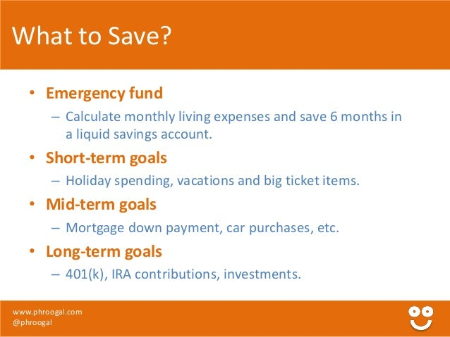 Best short term savings options