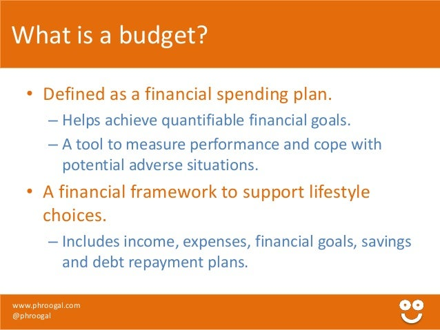 personal finance budgeting psychology of spending by phroogal