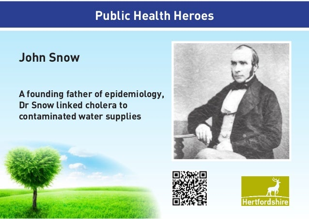 father of epidemiology