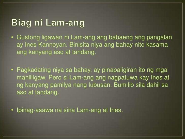 biag ni lam ang Best answer: ang pinakalumang katutubong epiko na naitala ay ang ilokanong biag ni lam-ang (ang buhay ni lam-ang) ang epiko ay tungkol sa mga natatanging.