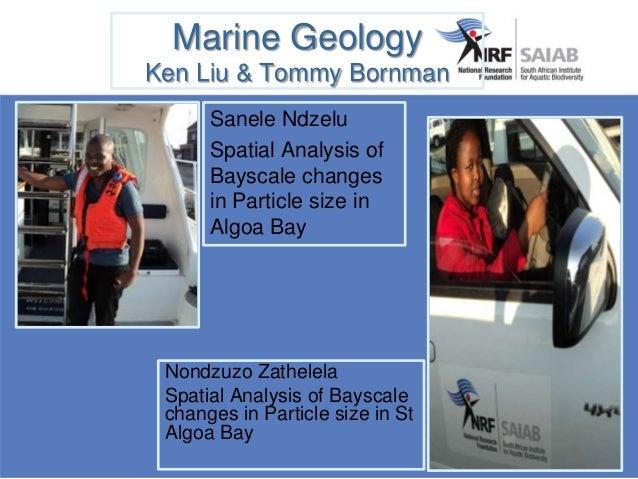 GIS Caryll Tyson & Tommy Bornman Tivisani Ndlovu & Amanda Mlungwana Spatial Mapping of Changes in Oyster Bay and St Franci...