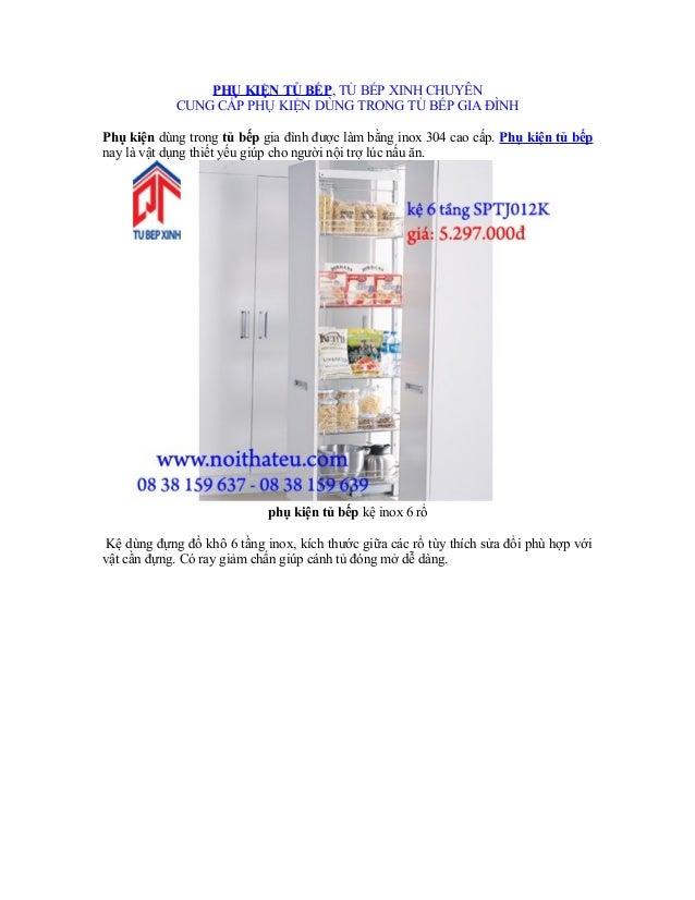 PHỤ KIỆN TỦ BẾP, TỦ BẾP XINH CHUYÊN CUNG CẤP PHỤ KIỆN DÙNG TRONG TỦ BẾP GIA ĐÌNH Phụ kiện dùng trong tủ bếp gia đình được ...
