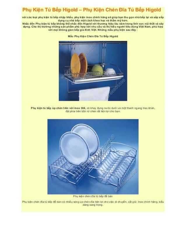 Phụ Kiện Tủ Bếp Higold – Phụ Kiện Chén Đĩa Tủ Bếp Higold với các loại phụ kiện tủ bếp nhập khẩu, phụ kiện inox chính hãng ...