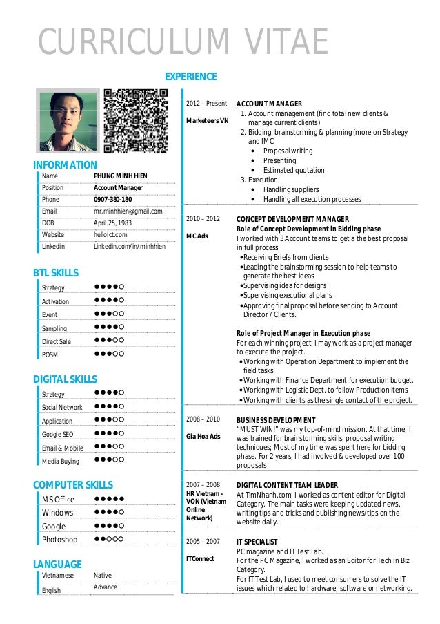 Traditional resume template free