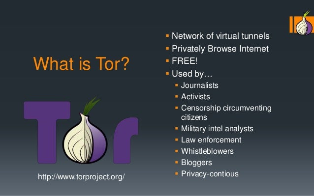 Tor: How it works to keep you safe online  PhutureCon 2014