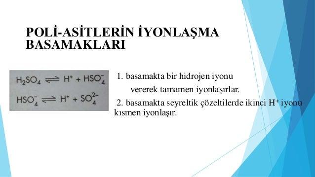 c)Zayıf Asit ve Zayıf Baz Tuzunun Hidrolizi