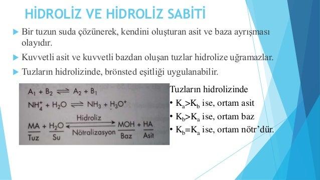 ÖRNEK 2:0,2 M NH4CI çözeltisinin pH'ı nedir?  (Kb=1,85.10-5 NH3 için)