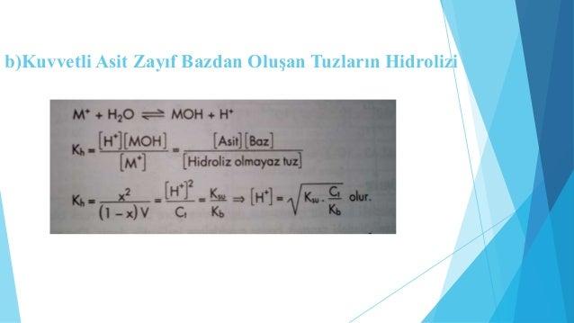İNDİKATÖRLER  Bir çözeltideki hidrojen iyonlarının derişimine göre belirli  bir renk oluşturan, zayıf asit ve zayıf baz öz...