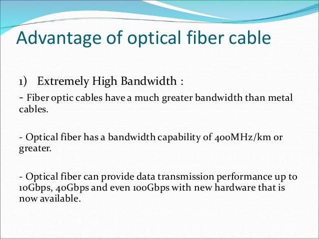 Advantages Of Optical Fiber Cable