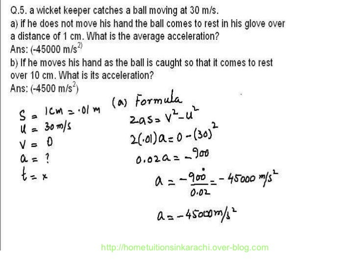 physics numerical problem metric physics kinematic problems karachi   hometuitionsinkarachi over blog com