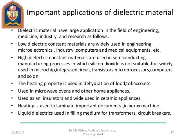 Dielectric And Magnetic Properties Of Materials