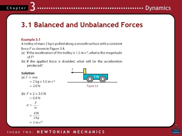 Forces – Balanced and Unbalanced Forces Worksheet
