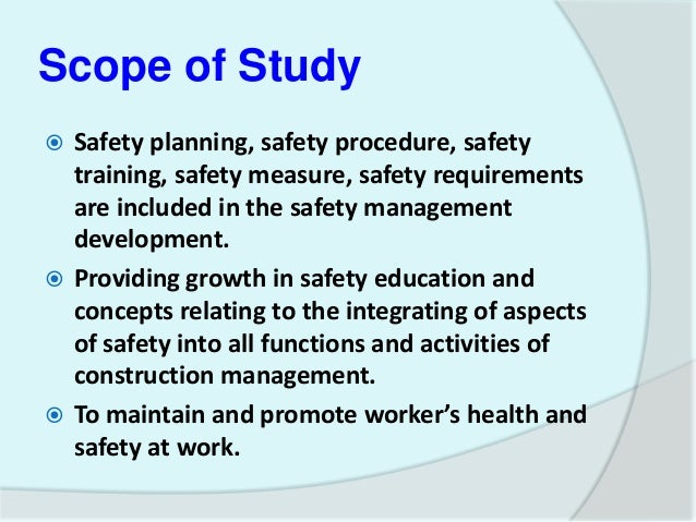 2. APPLICATION OF OCCUPATIONAL HEALTH, SAFETY AND ENVIRONMENTAL MANAG…