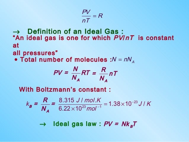 Ideal Gas Constant J/Kmol