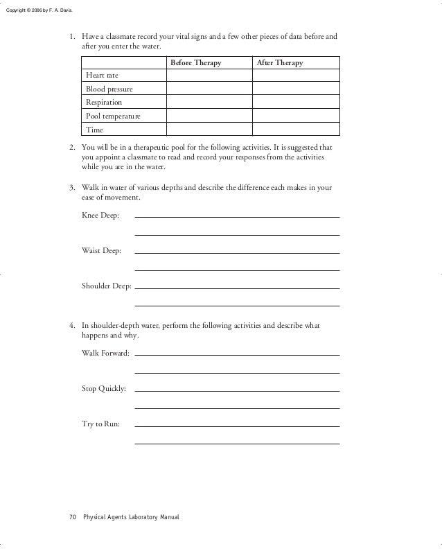 Physical agents laboratory manual 2 – Vital Signs Worksheet