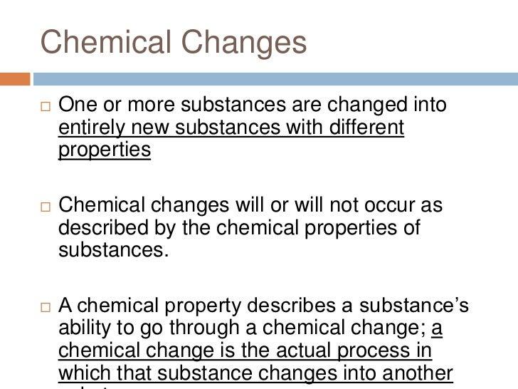 Chemical Properties Of Cake