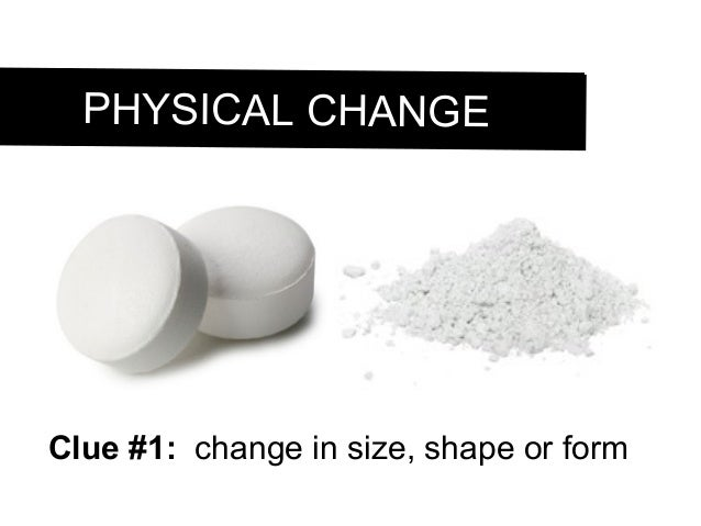 Grade 9, U1-L5 Physical and chemical changes