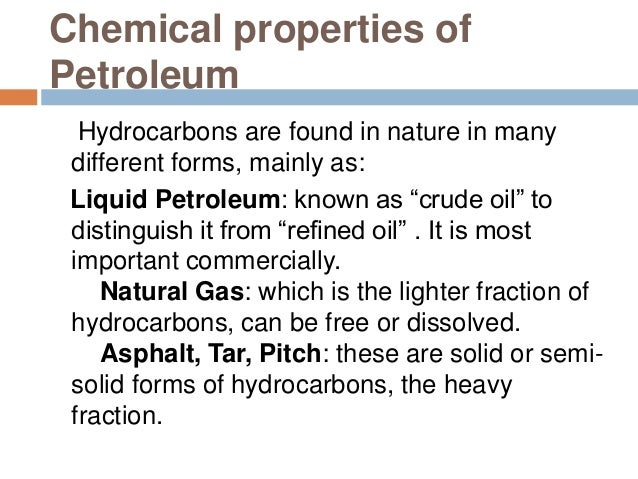 properties of hydrocarbon Short, engaging multimedia resources on the topic of the properties of hydrocarbons putting science in a real-life context.