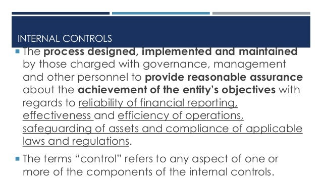 physical control checks and internal control The nys office of mental health's bureau of audit has provided the following list of internal controls to assist you in preventing and detecting fraud at your agency use a system of checks and balances to ensure no one person has control over all parts of a financial transaction.