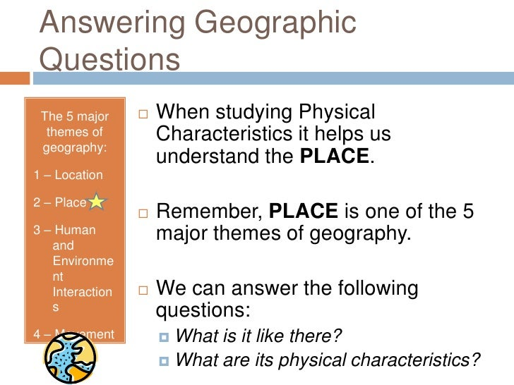 Physical Characteristics Of The United States Power Point - Physical characteristics of the united states