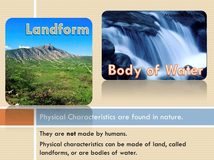 Physical Characteristics Of The United States Power Point - United states physical features
