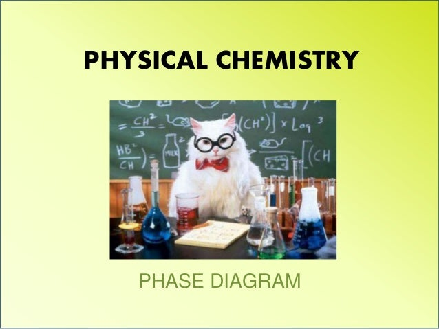 PHYSICAL CHEMISTRY PHASE DIAGRAM