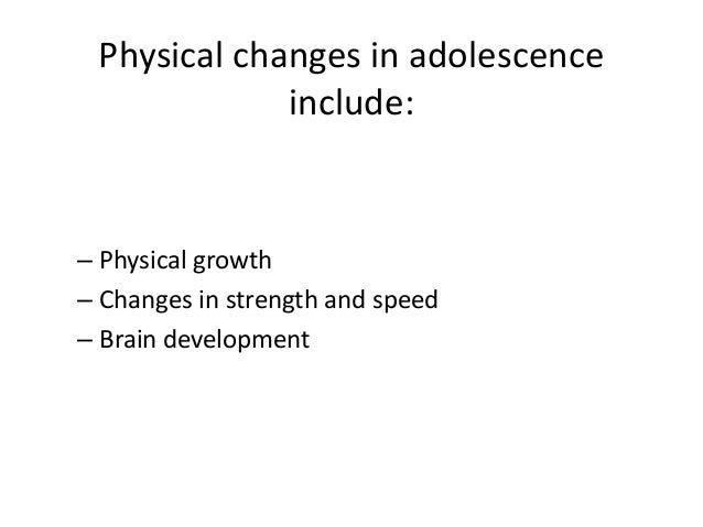 physical development in adolescence pdf