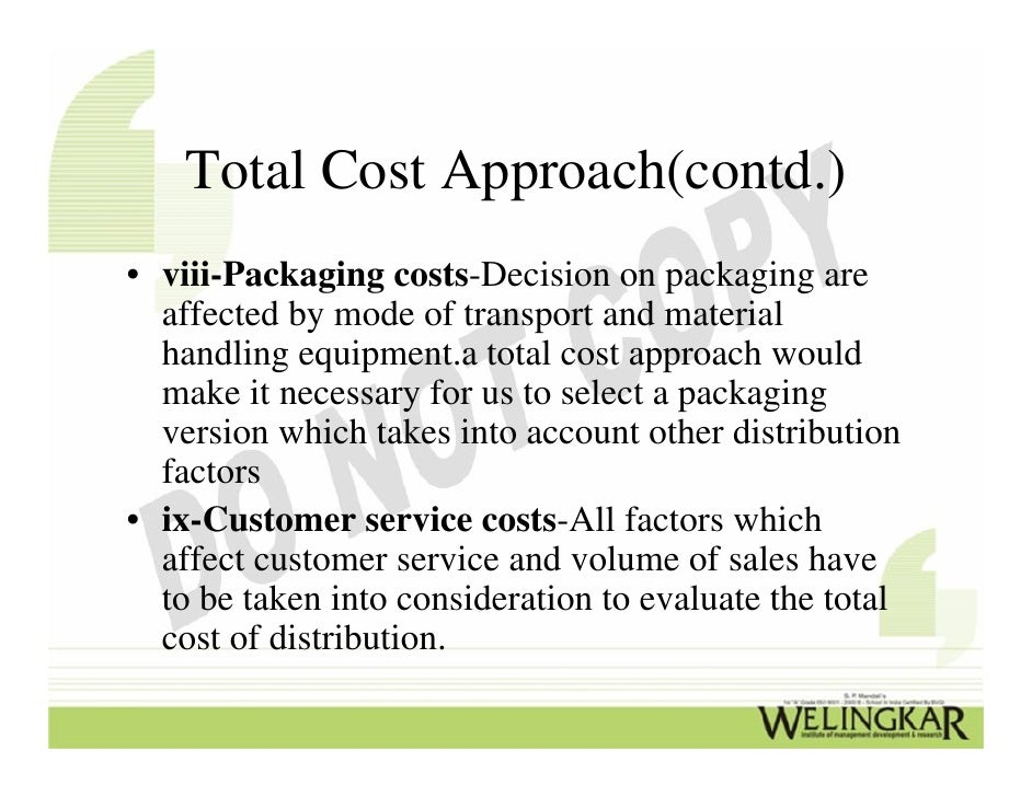 Factors that are to be considered while selecting material handling equipment
