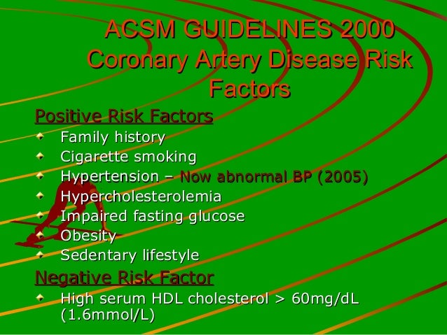 acsm guidelines overhead for hypertension