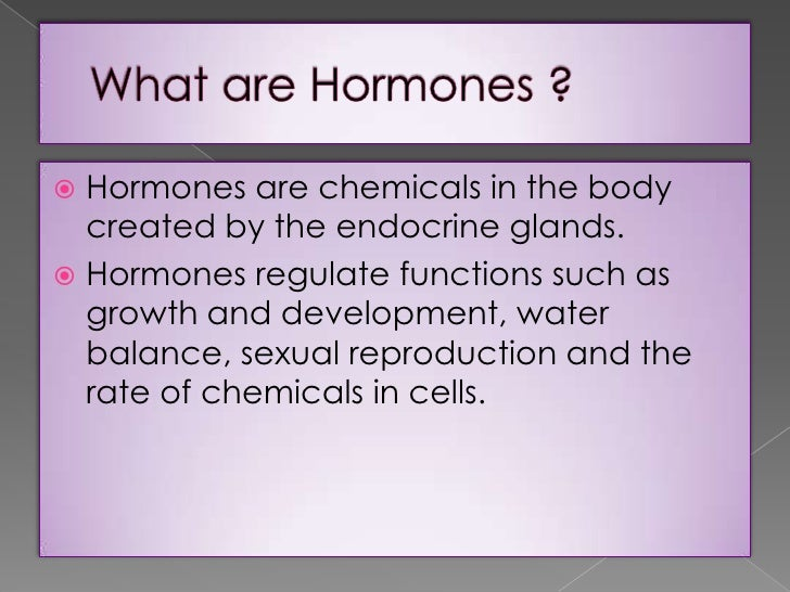 physical effects of hormone treated food, Human body