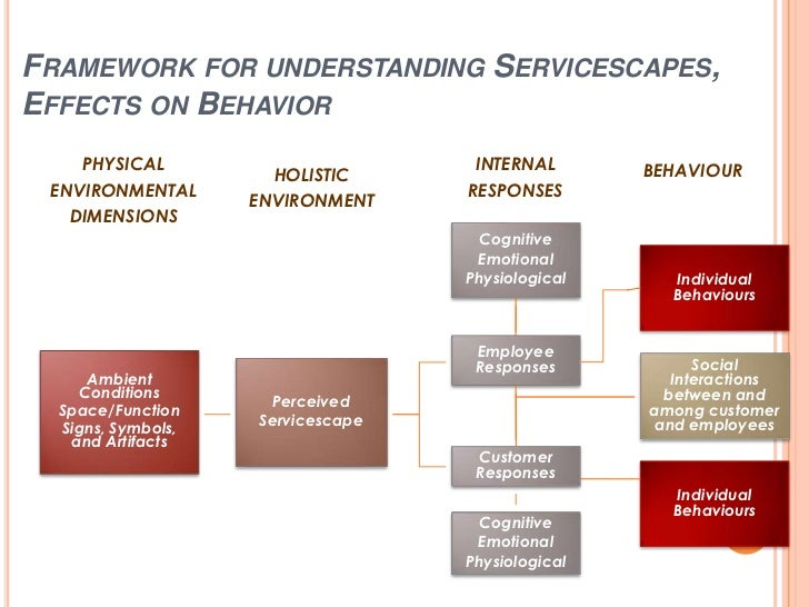 Important Role of the Servicescape