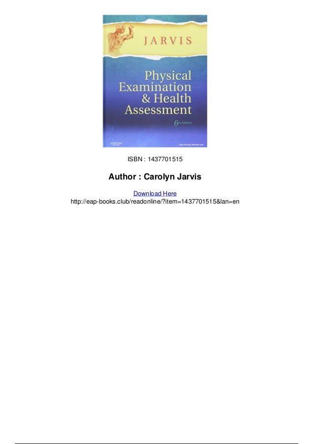 Physical examination and health assessment 6th edition pdf Slide 3