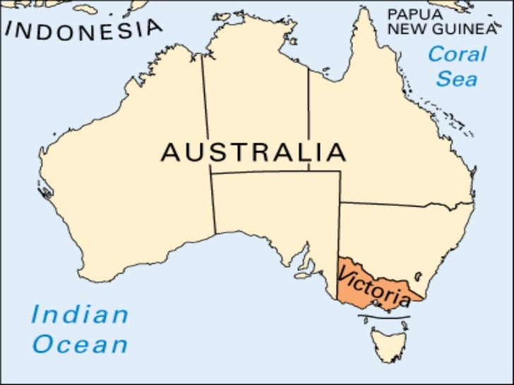 Political Map Of Victoria Australia.Australia Physical And Political Features