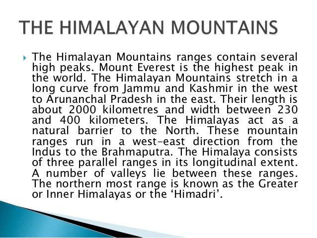 Physical features of india 10 altavistaventures Images