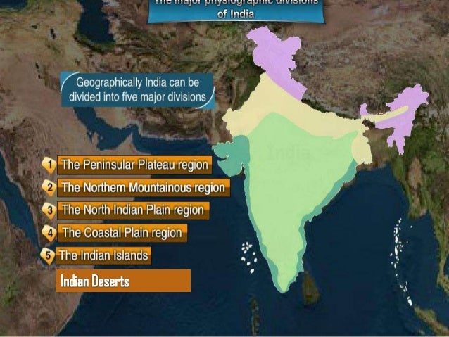 Physical features of india Slide 3