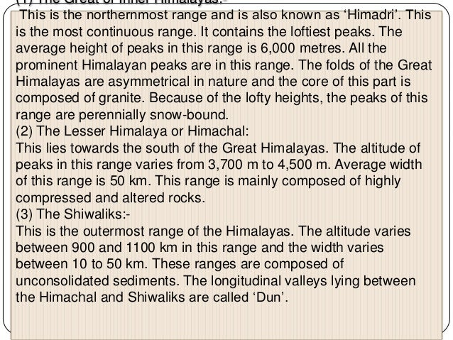 Bhabar: After descending from the mountains, the rivers deposit pebbles in a narrow belt. The width of this belt is about ...