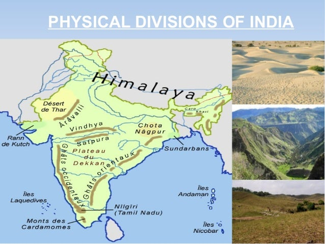 india and its physical features