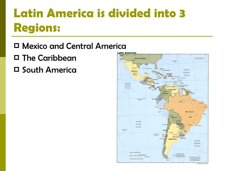 Physical features of latin america 2