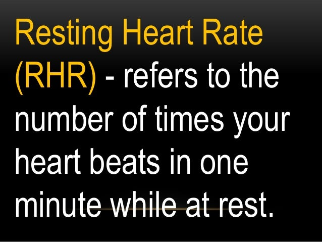 Target Heart Rate (THR) - Your Target Heart Rate is a percentage of your MaxHR.