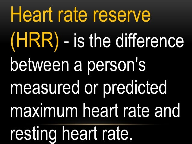 ACTIVITY 2: Compute the following: a. Resting Heart Rate _______bpm b. Maximum Heart Rate ______bpm c. Heart Rate Reserve ...