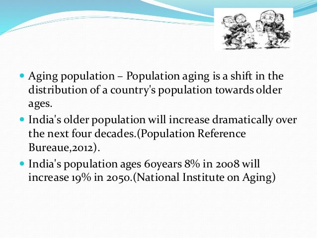 successful aging for the geriatric population Successful aging™ report: our nation is aging at an unprecedented rate, in a titanic shift that is creating the largest older population in history and these mature adults live predominantly in urban settings.