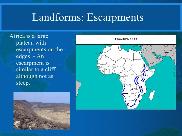 Physical geography of africa i