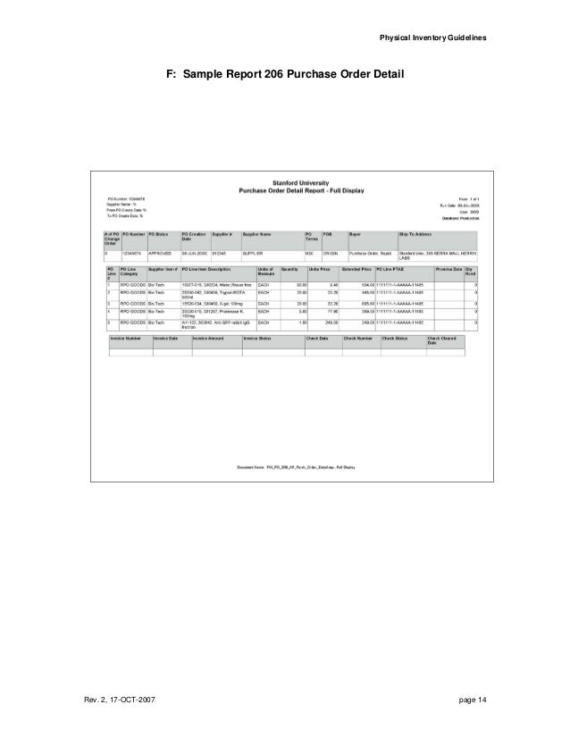 physical inventory guidelines 4 physical inventory policy guidelines inventory system user manual november 2016 inventory inventory inventory management office inventory inventory.