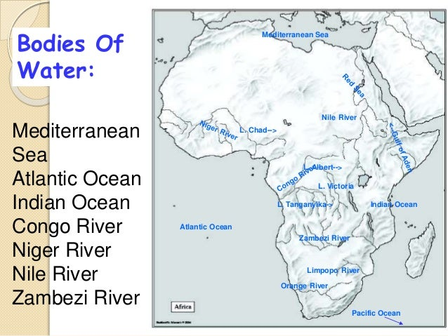 Lake Victoria On Map Of Africa.Physical Map Of Africa